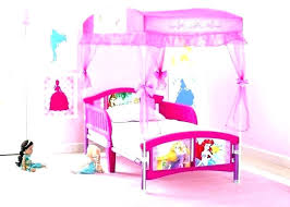 Canopy Princess Bed Toddler With Carriage For Kmart Bedroom Set