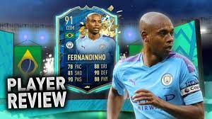 IS HE WORTH GETTING?! 91 TOTSSF FERNANDINHO REVIEW! #FIFA20 - YouTube