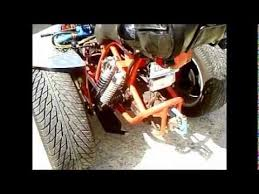 Larrys mid engine trike closer look. - YouTube