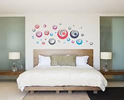 Accessori Fai Da Te Camera Da Letto : Ufengke� creative palle bolla cerchi colorati adesivi murali