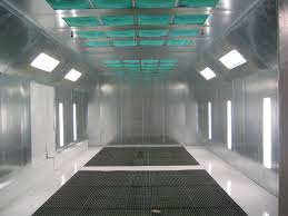 Downdraft Paint Booth Design Pdf Ez Pit Downdraft Auto Paint Booth Col Met Efs
