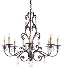 rustic crystal chandeliers throughout with pertaining to crystals design 5