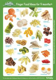Watties Baby Food Chart Finger Food Ideas 9 Months For Baby Nz