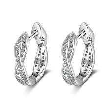 New fashion <b>wheel of fortune 925</b> sterling silver winding s earrings ...