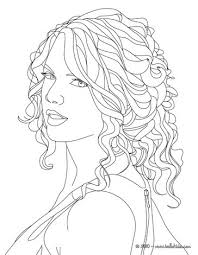Small Picture Taylor swift close up coloring pages Hellokidscom