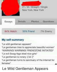 neckbeard things meme  m straight single new york new york  neckbeard things  m straight single new york new york essays details photos questions