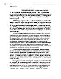 essay the tell tale heart by edgar allan poe degree s essays  essay the tell tale heart by edgar allan poe