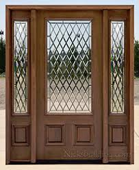 front doors with side windowsExterior Doors with Sidelights Wholesale Clearance Wood Doors