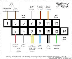 radio wiring diagram volvo 940 radio wiring diagrams online