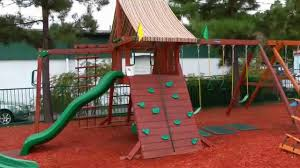 Walmart Playsets Wood | Gorilla Swing Sets | Outdoor Wood Playsets