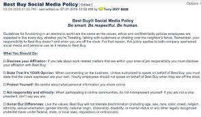business policy example social media policy how to make yours thorough to avoid emergencies