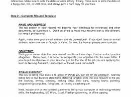 Does A Resume Need An Objective My Objective Resume Create An For Profile Sample Personal Writing 37