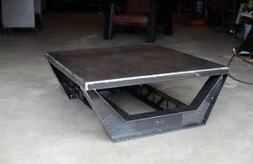 metal industrial furniture. Furniture To Put In A Man Cave Steel Industrial Coffee Table Design Metal