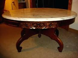 antique marble coffee table antique marble top coffee table antique rose carved mahogany oval coffee table