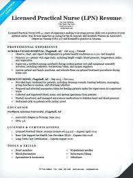 Registered Practical Nurse Resume Sample
