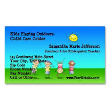 Kids Playing Outdoors Child Care Childcare Center Business