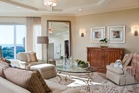 large mirrors for contemporary living rooms