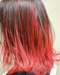 レディースのツートンカラーの髪型16選個性的で派手な2色の髪色は Cuty
