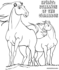 Small Picture Spirit Cimarron Coloring Pages Coloring Pages To Download And