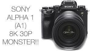 Sony A1 8K MONSTER!!