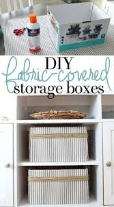 with a few supplies you can easily upcycle cardboard boxeake beautiful custom storage