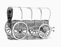 black and white covered wagon. free covered wagon digital stamps antique graphic black and white m