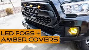 Amber Led Fog Lights Tacoma Must Have Tacoma Mods To See Better At Night Through Snow Rain And Fog