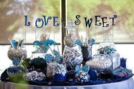 navy blue wedding theme