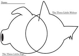 Venn Diagram Three Venn Diagram For Three Little Pigs And Three Little Wolves 1 Rl 9