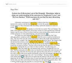 explore how r browning s use of the dramatic monologue helps to  document image preview