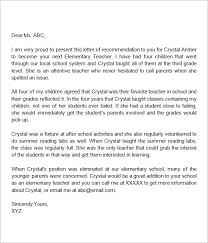 Sample Letter Of Recommendation For Teaching Colleague   Howtoviews.co