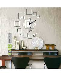 Small Picture Buy Creative Wall Sticker 3D Wall Clock Online in Pakistan eBuypk