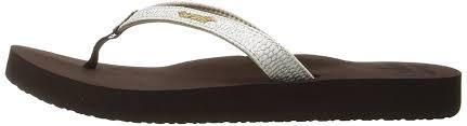 Flip Flop Shoe Size Chart Reef Star Cushion Sassy Womens Flip Flop Shoes Flops