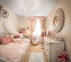 new york pink ruffle curtains with swarovski crystal chandeliers kids traditional and little girls bedroom