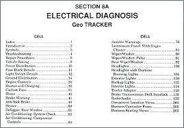 geo tracker stereo wiring diagram basic guide wiring diagram \u2022 2003 Chevrolet Tracker 4x4 1997 geo tracker wiring diagram radio electrical diagnosis manual rh gotoindonesia site 2002 chevrolet tracker stereo wiring diagram 2003 chevy tracker