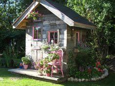 Small Picture Crush of the Month Dreamy Garden Sheds aka Backyard Retreats