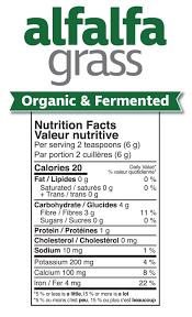 superfood alfalfa gr nutrition facts alfalr 300g powder 750cc 20mb