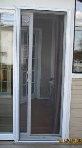 door sliding screen door repair track latch set strike roller adjustment 98 fearsome sliding screen