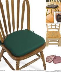 chair pads with ties custom kitchen chair seat cushions custom dining chair cushions style