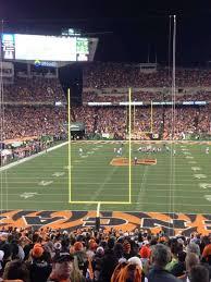 Paul Brown Stadium Section 152 Home Of Cincinnati Bengals