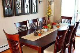 decorating dining room table ideas great fall dining room table decorating ideas with glass dining table