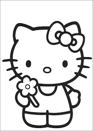 Awesome Collection Of Kids N Fun Cool Hello Kitty Soccer Coloring
