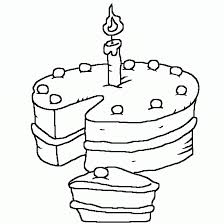 Small Picture Birthday cake coloring pages printable for kids ColoringStar