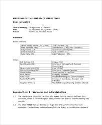Meeting Agenda Sample Doc Custom Board Meeting Agenda Template Website Picture Gallery Board Meeting