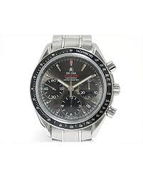 reebonz your world of luxury omega men s authentic omega speed master watch stainless steel men automatic 3233 04 reebonz