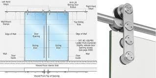 laa series double sliding door wall