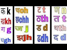 Hindi K Kha Ga Chart With Pictures Topics Matching Hindi Ka Kha Ga Gha Writing In English