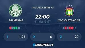 Palmeiras - Sao Caetano SP » Live Score & Stream + Odds, Stats, News