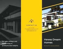 Real Estate Fold Brochure Customize Templates Online Open