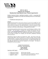 Commercial Cleaning Services Proposal Sample Awesome House Cleaning